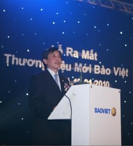 Lễ ra mắt thương hiệu mới của Tập Đoàn Bảo Việt